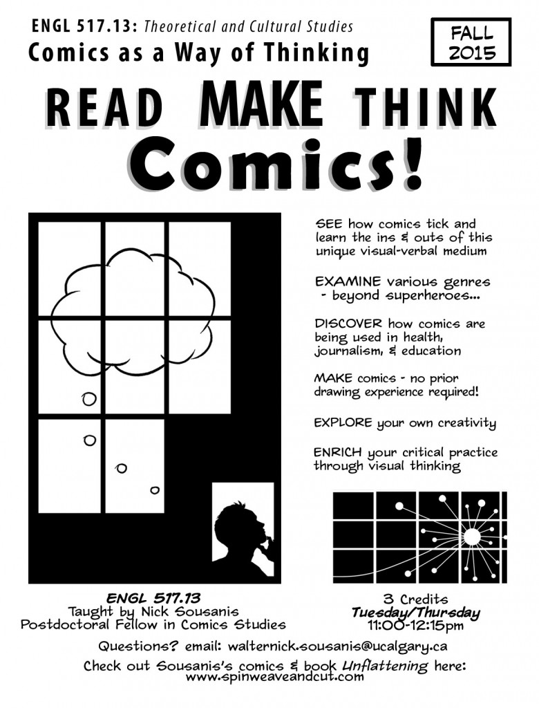 comics course poster Fall15