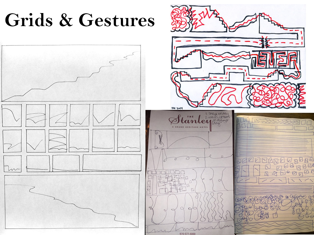 Grids and Gestures activity post from Nick Sousanis.